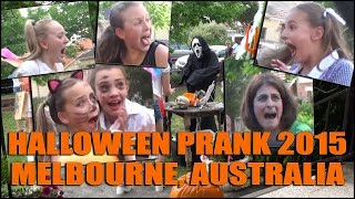 Halloween Scream Prank In Melbourne Australia 2015