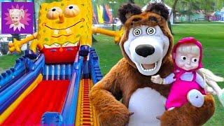 Детский Парк Развлечений! Катаемся на гигантских качелях и прыгаем на огромном батуте!(, 2016-05-27T13:00:01.000Z)