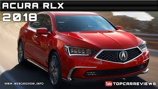 2018 ACURA RLX Review Rendered Price Specs Release Date