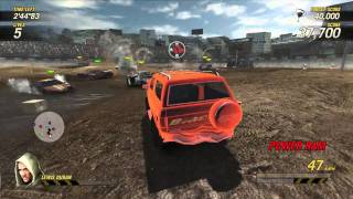 FlatOut Ultimate Carnage - Deathmatch Derby Bowl 2 HD (1080p) Gold