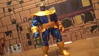 Comic Thanos StopMotion Test #2