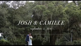 Josh & Camille | Chic Garden Wedding