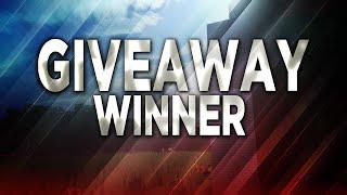 Giveaway winners!