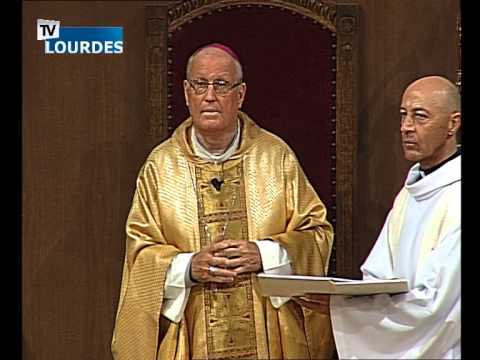 Lourdes Messe Internationale du mercredi 30 sept. 2015-International Mass (France)