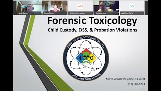 Forensic Toxicology child custody and probation violations 11-20-2020