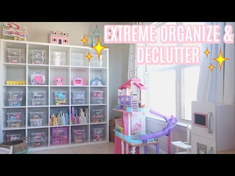 TACKLE YOUR TO DO LIST WITH ME : EXTREME PLAYROOM ORGANIZATION | Tara Henderson