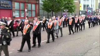 36th Ulster Division Mem Association Parade Belfast 9/5/2015 (Part6)