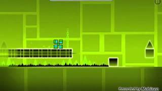 Retos geometri dash (se ve lento) gameplay