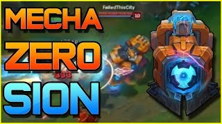 MECHA ZERO SION JUNGLE - Full Gameplay | League of Legends