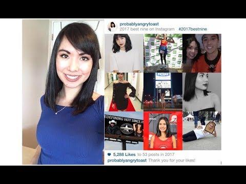 My 2017 Best Nine On Instagram