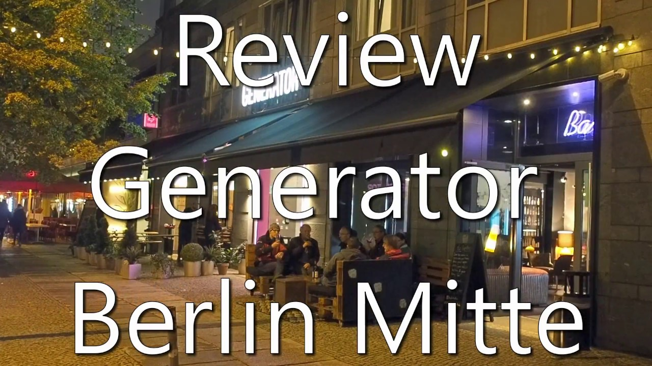 review generator berlin mitte hostel and hotel youtube. Black Bedroom Furniture Sets. Home Design Ideas