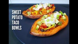 SWEET POTATO TACO BOWLS - CookingwithKarma