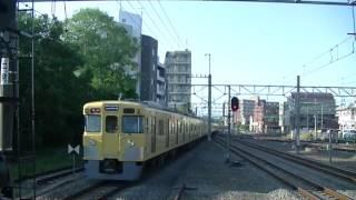 西武鉄道2001F+2411F 急行西武新宿行 小川発車