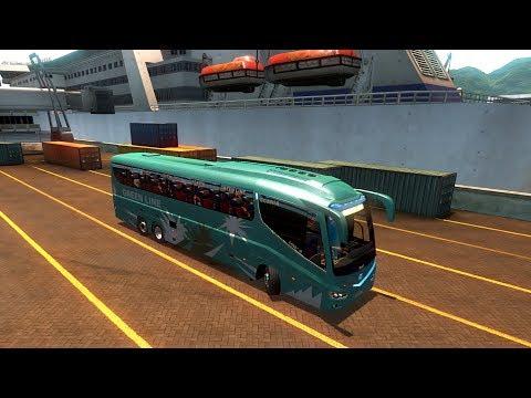 ETS2 Mercedes Benz Green Line HDR