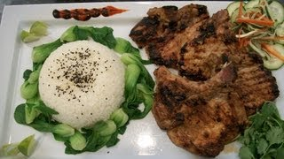 How To Make Lemon Grass Pork Chops