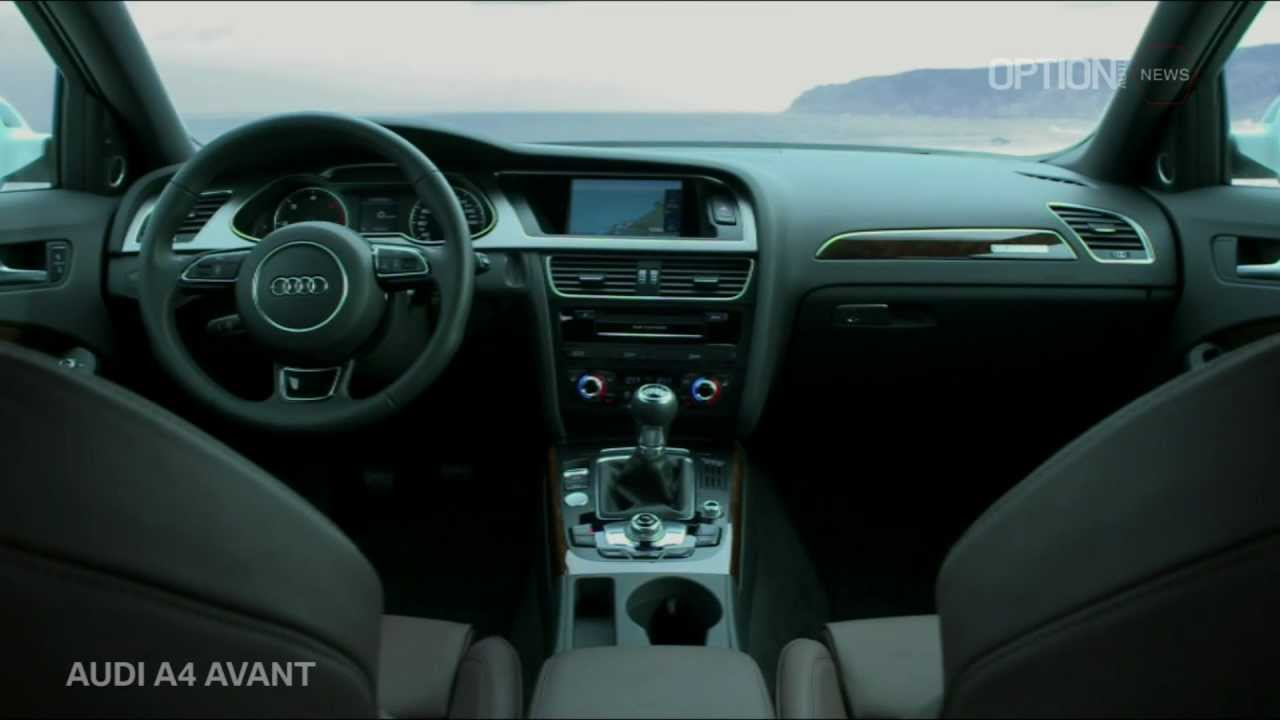 New AUDI A4 Avant 2012 Interior [HD] (Option Auto News) - YouTube