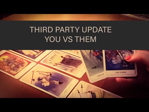 PICK A CARD: THIRD PARTY UPDATE!! YOU VS THE OTHER PARTY. TAROT TIMELESS READING.