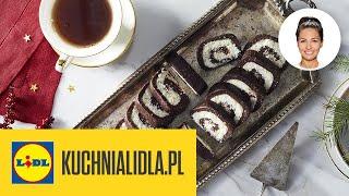 Szybka roladka kokosowa (BEZ PIECZENIA!)  | Kinga Paruzel & Kuchnia Lidla