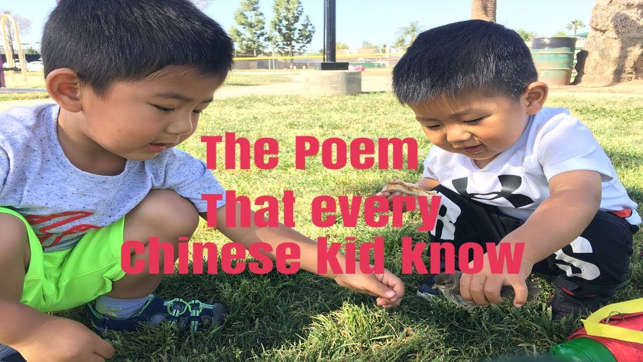 The poem that every Chinese kid knows|😍min nong poem 悯农