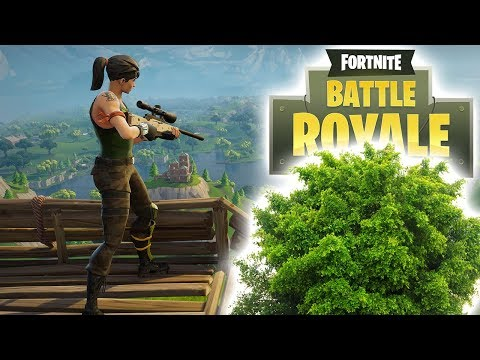 How to become a bush in fortnite