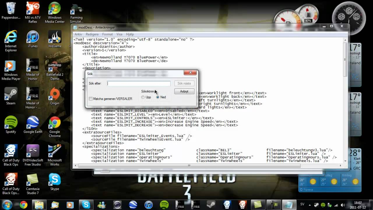 Gleaner super series 77 + mac don d50+ header trailer mod.