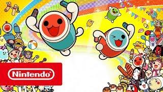 Taiko No Tatsujin Drum 'n' Fun – Launch Trailer (Nintendo Switch)