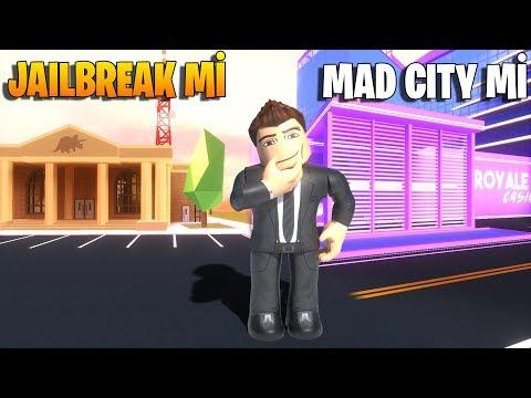 🏙️ Mad City'den Sonra Jailbreak Oynamak! 🏙️ | Jailbreak | Roblox Türkçe