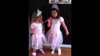 One of RosieGraceMcClelland's most viewed videos: Sophia Grace Brownlee raps Super bass & Rosie Grace McClelland dances!!