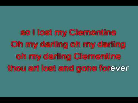 OH  MY DARLING CLEMENTINE 713437 karaoke