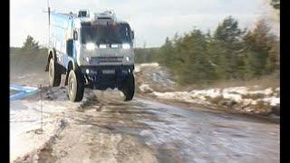 Президент РТ лично опробовал и проводил грузовики