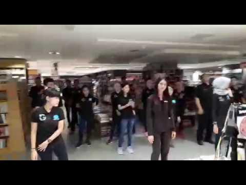 Team Gramedia Mall Boemi Kedaton Bandar lampung