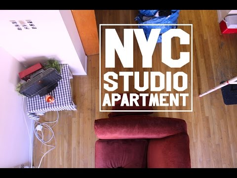 What My $1200 NYC Studio Looks Like