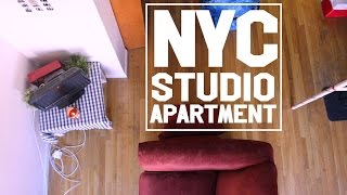 One of DamonAndJo's most viewed videos: What My $1200 NYC Studio Looks Like