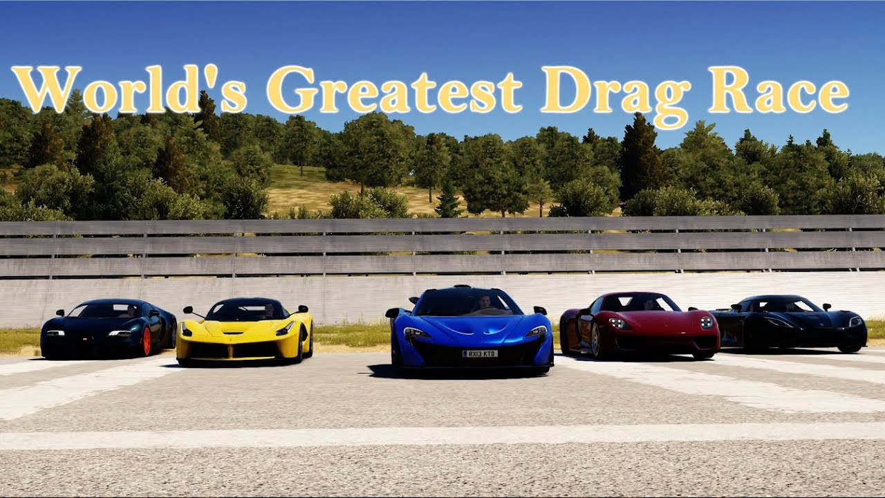 Forza Horizon World S Greatest Hypercar Drag Race