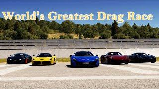 Forza Horizon 2 - World's Greatest (Hypercar) Drag Race 3: P1, 918, LaFerrari, Super Sport, Agera