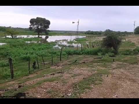 Represa do açude torrão no sítio Exú, São Vicente RN