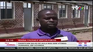 NOTÍCIAS OFICIAIS | Efeitos do Cyclone IDAI #Moçambique #Beira  | 16.03.2019 | TVM