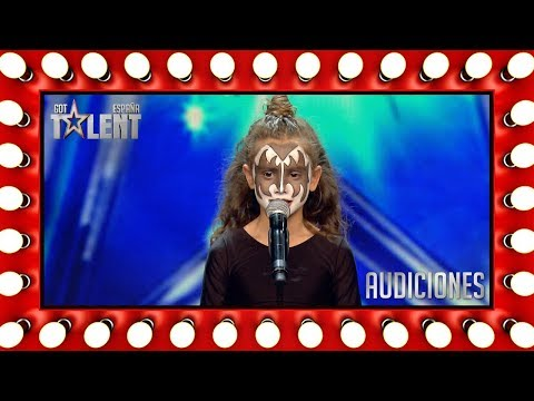 She is a young trapeze artist | Auditions 4 | Spain's Got Talent 2018