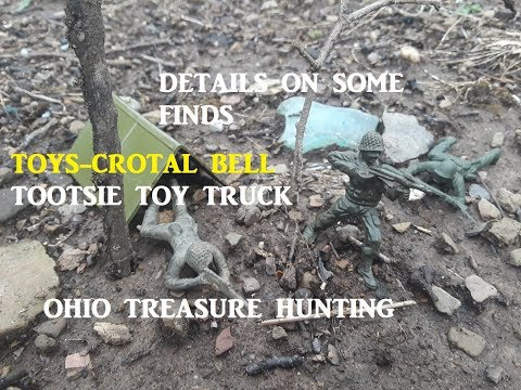 Ohio Treasure Hunting Detailed Find Information Archaeology