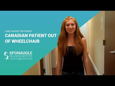 Lyme Disease Treatment - Canadian Patient Out of Wheelchair