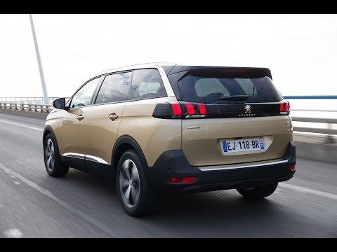 Peugeot 5008 2017 минивэн кроссовер