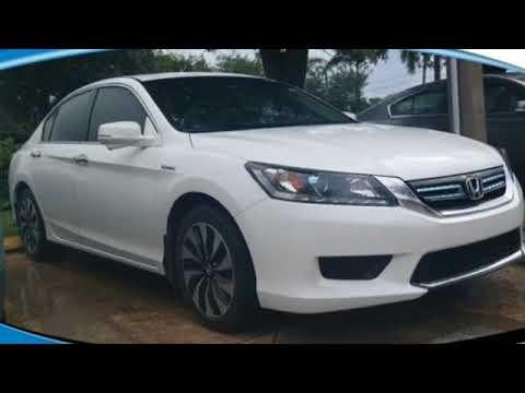 Used 2015 Honda Accord Hybrid West Palm Beach Juno, FL #JM711790A