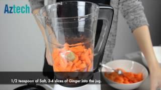 Aztech Soup Maker Asm800 | Carrot & Ginger Soup Recipe
