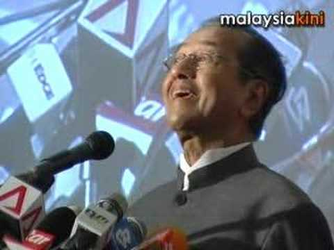 It's not the system but the people that's bad: Mahathir