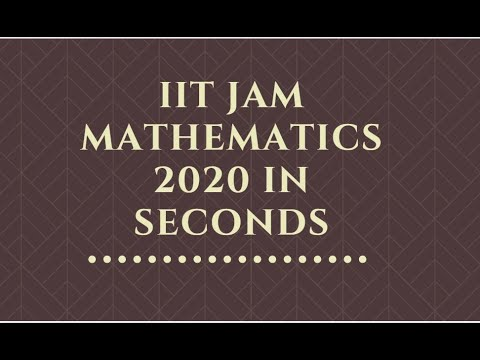 iit-jam-2020-mathematics-||-actual-question-paper-in-one-video-||-#iitjam-maths-#iitjam2020