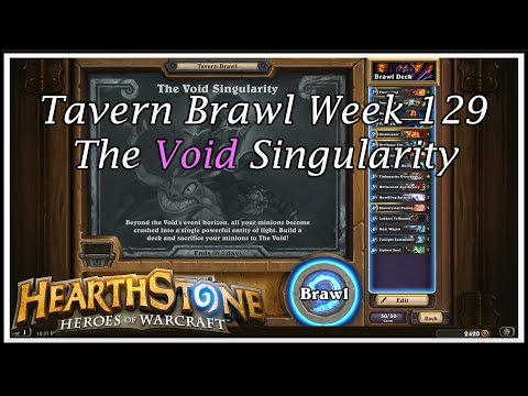 Hearthstone: Tavern Brawl - The Void Singularity - Week 129