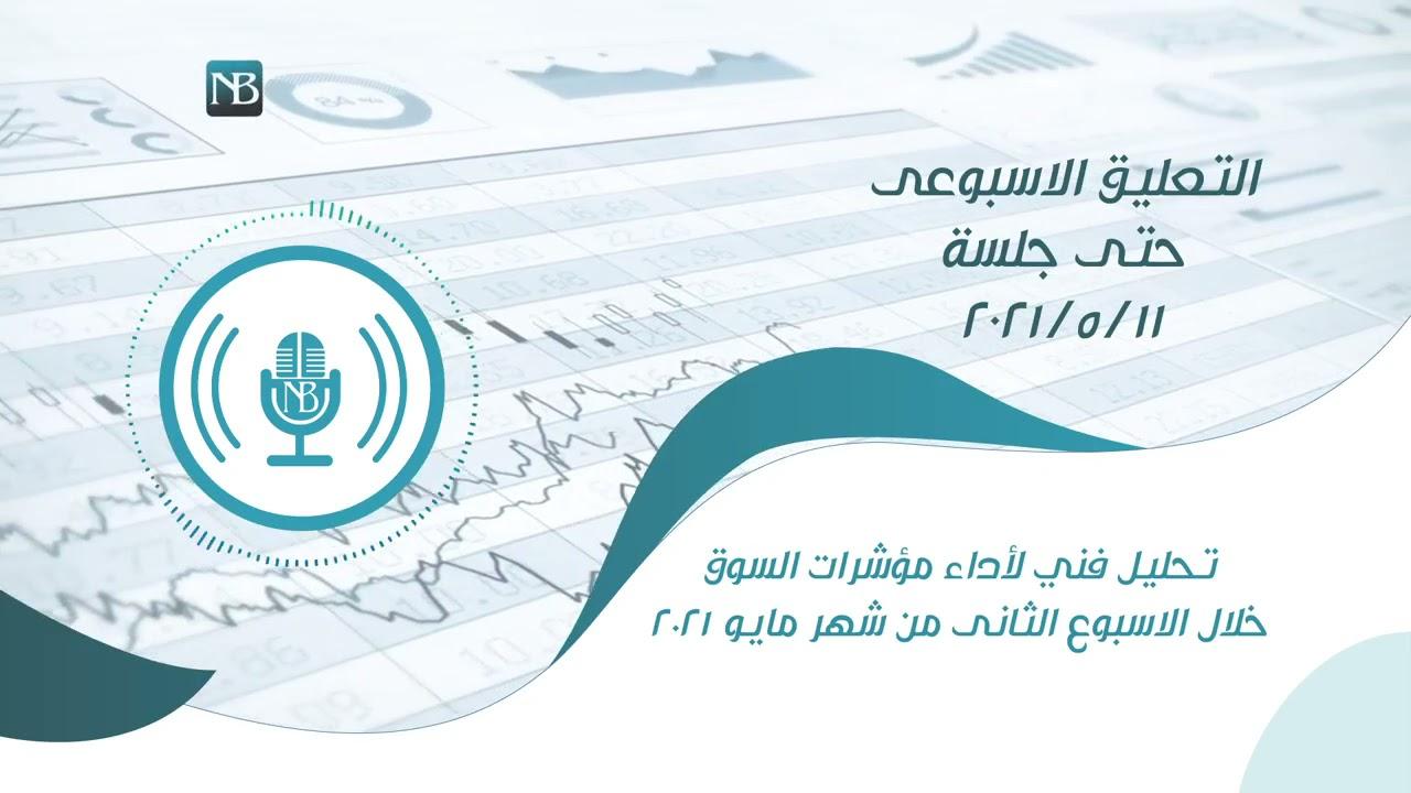 تحليل فني لأداء مؤشرات البورصة المصرية خلال الاسبوع الماضي حتي جلسة 11-05-2021