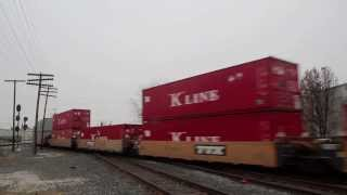 Video #337 - Railfanning in Muncie, Indiana