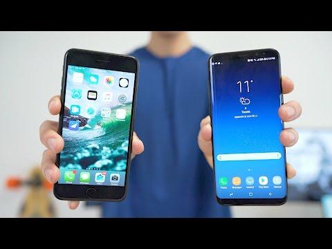 Samsung Galaxy S8+ VS iPhone 7 Plus - Battle of the Behemoths!