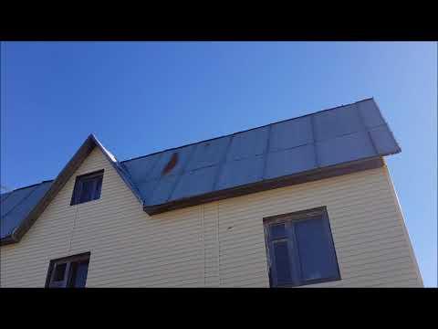 Почему не стоит крыть крышу оцинкованным металлом
